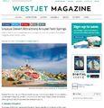 West Jet Magazine - Salvation Mountain Photo