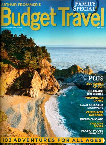 Budget Travel Magazine Cover