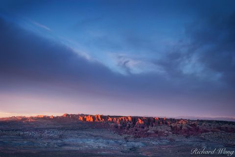 alpenglow, arches national park, arid, desert, deserts, fiery furnace, geological weathering, landscape, moab entrada sandstone, nature, outdoors, outside, panorama point, panoramic, salt valley, scen