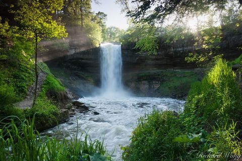 Minnehaha Falls, Minneapolis, Minnesota, photo
