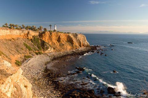 California, Pacific Ocean, Palos Verdes Peninsula, Point Vicente Lighthouse, coast, coastal, coastline, coastlines, lighthouses, scenic, sunset