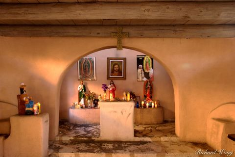 New Mexico, Old Town Albuquerque, Our Lady of Guadalupe Chapel, catholic religion, church