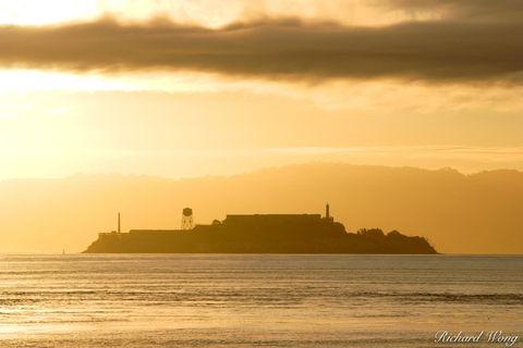 Alcatraz Island Sunrise, San Francisco, California, photo