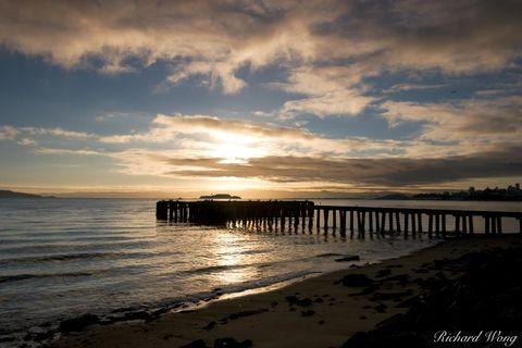Fort Point Pier, San Francisco, California, photo