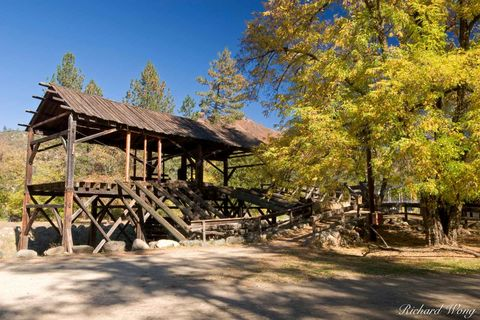 1848, American River, California, Coloma, Gold Country, Gold Rush, Highway 49, Marshall Gold Discovery State Historic Park, Sierra Nevada Foothills, Sutter's Mill, autumn, colors, fall foliage, lumber