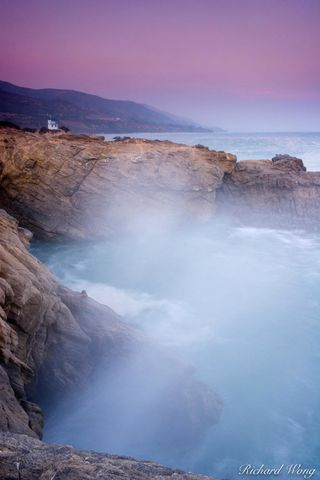 Leo Carrillo State Beach Coastline, Malibu, California, photo