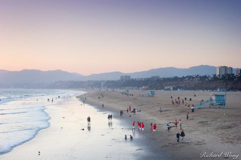 Santa Monica Beach, Southern California, photo