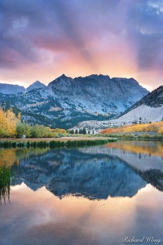 North Lake Sunset, Eastern Sierra, California, photo