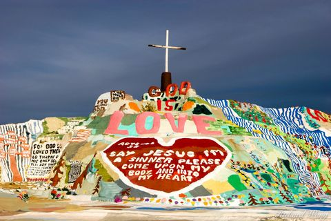 Salvation Mountain, Slab City, California, leonard knight, photo