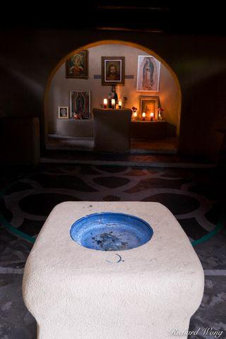 Capilla de Nuestra Senora de Guadalupe (Our Lady of Guadalupe Chapel) Interior at Old Town Plaza, Albuquerque, New Mexico, photo
