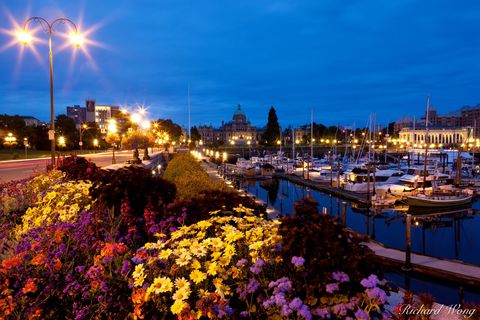 american, attraction, attractions, bc, boats, british columbia, canada, canadian, cities, cityscape, coastal, coastline, dark, darkness, dawn, dock, downtown, ferry, flowers, harbor, historic place, i