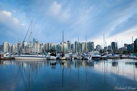 Coal Harbor Marina, Vancouver, B.C., photo
