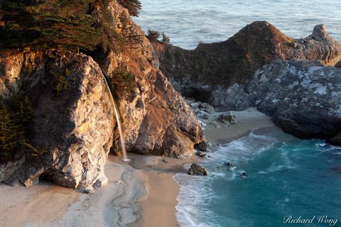 McWay Falls, Big Sur, California, photo