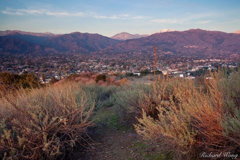 Glendora, Los Angeles County, Mount Baldy, Mount San Antonio, Pride of the Foothills, San Gabriel Mountains, San Gabriel Valley, hills, landscape, landscapes, scenic, scenics, south hills wilderness p