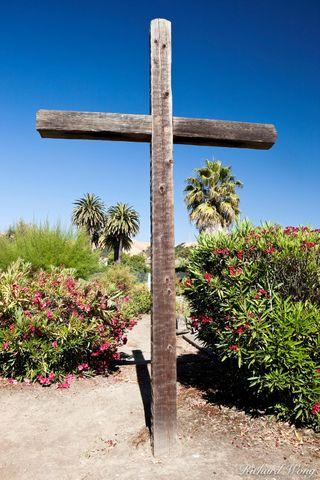 Christian Cross, Cemetery, Mission San Jose, Fremont, California, photo