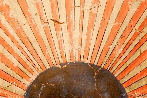 original munras mural, esteban munras, mission san miguel arcangel, california, photo