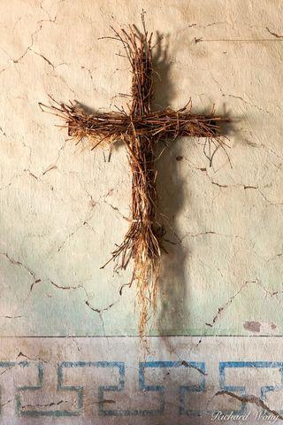 mission san miguel arcangel, straw cross, california, photo
