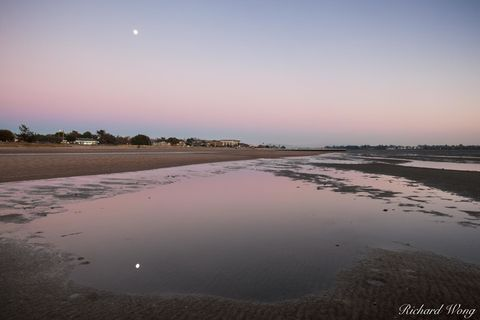 South Shore Beach at Dusk, Alameda, California, photo