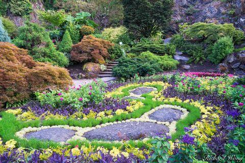Sunken Garden at Queen Elizabeth Park, Vancouver, B.C., photo