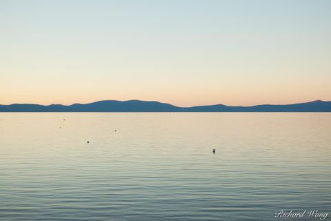 South Lake Tahoe at Sunset, California, photo