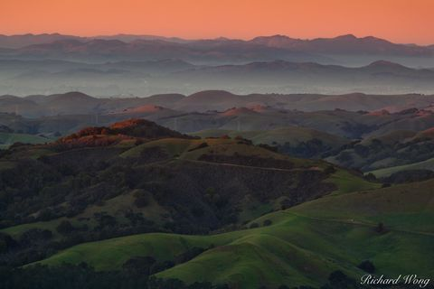 Rolling Hills in the East Bay Regional Parks, California, photo