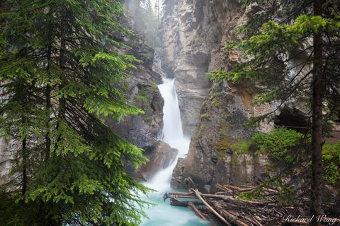 Lower Johnston Canyon Falls, Banff National Park, Alberta, Canada, photo