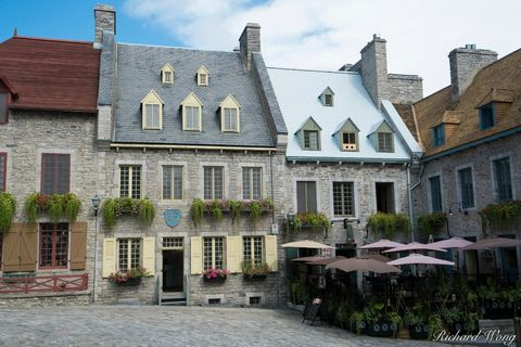 architecture, basse-ville, buildings, canada, cobblestone, historic site, historical, lower town, north america, old town, outdoors, outside, palace royal, province, qc, quebec, quebec city, travel