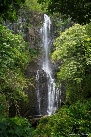 Wailua Falls (Road to Hana), Maui, Hawaii, photo