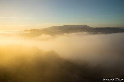 Pacific Ocean, clouds, coastal, coastline, fog, foggy, ggnra, golden gate national recreation area, hawk hill, hills, landscape, marin county, marin headlands, marine layer, mount tamalpais, mountains