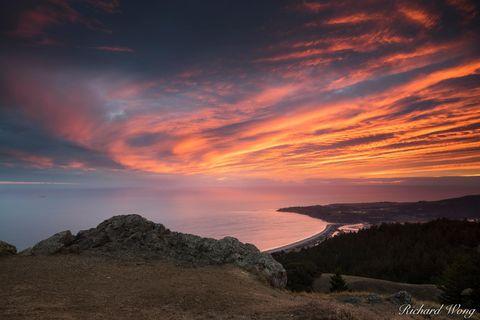 Stinson Beach, Mount Tamalpais State Park, California, photo