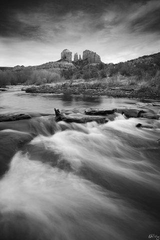 Cathedral Rock, Red Rock Crossing, Sedona, Arizona, Photo