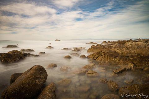 17 Mile Drive Seascape Long Exposure, Pebble Beach, California, photo