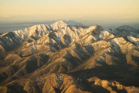 San Gabriel Mountains Aerial Photo