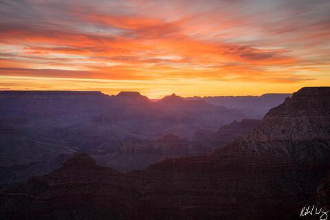 Yavapai Point at Sunrise, Grand Canyon National Park Photo