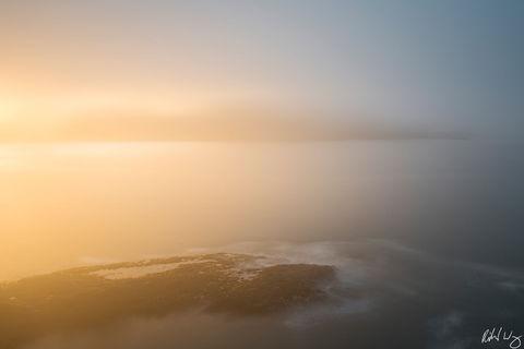 Sunrise Long Exposure, Mendocino, California, Photo