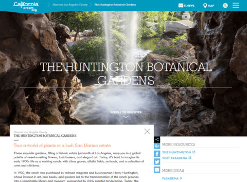 Visit California - Huntington Gardens