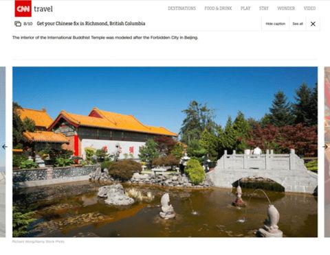 CNN Travelers - Richmond Buddhist Temple