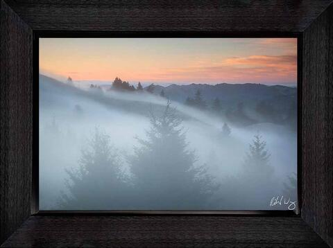 Framed ChromaLuxe Metal Prints Available