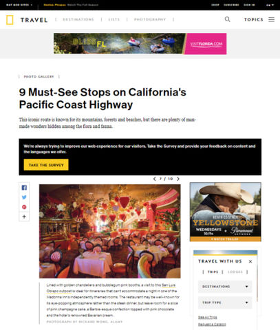 National Geographic - The Madonna Inn