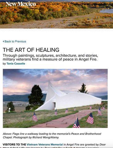 New Mexico Magazine - Veterans Memorial