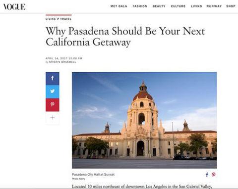 Vogue - Pasadena City Hall