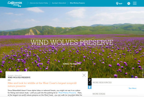 Visit California - Wind Wolves Preserve