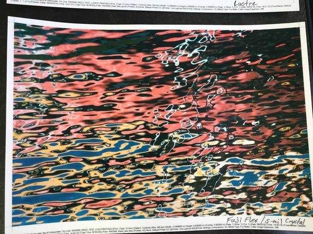 """Watercolors"" - Fujiflex with 5 mil UV matte laminate"