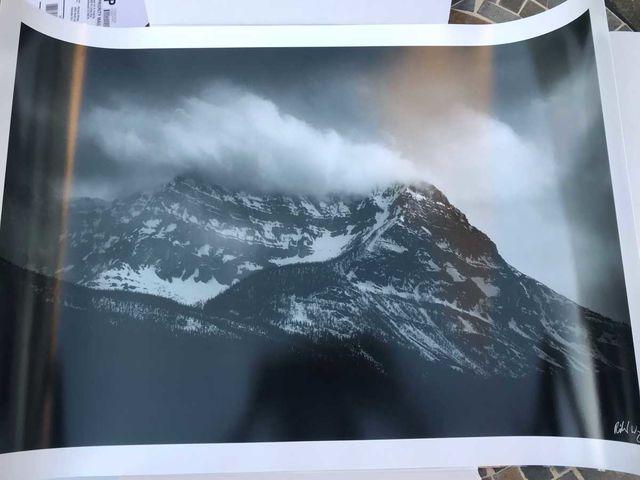 """Storm Mountain"" - Fuji DPII Matte"