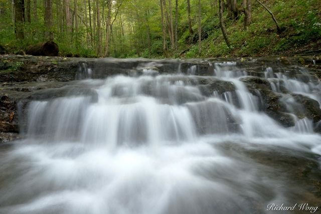Waterfall on Clifty Creek, Clifty Falls State Park, Indiana, photo