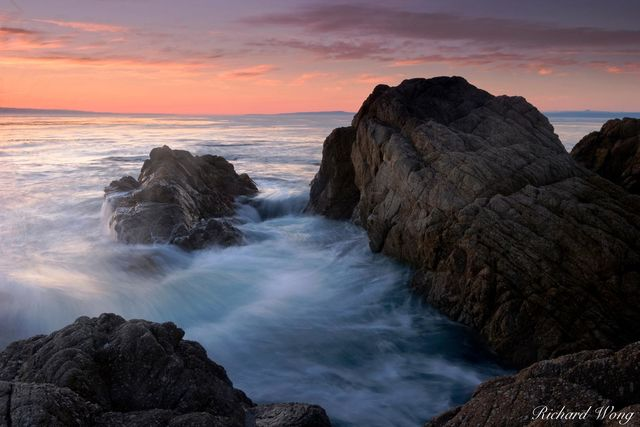 17 Mile Drive Seascape Tides, Pebble Beach, California, photo