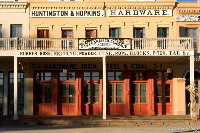 Huntington and Hopkins Hardware Store, Old Sacramento SHP, California, photo