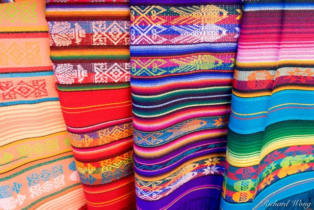 Navajo Native American Rugs, Santa Fe, New Mexico, USA, photo