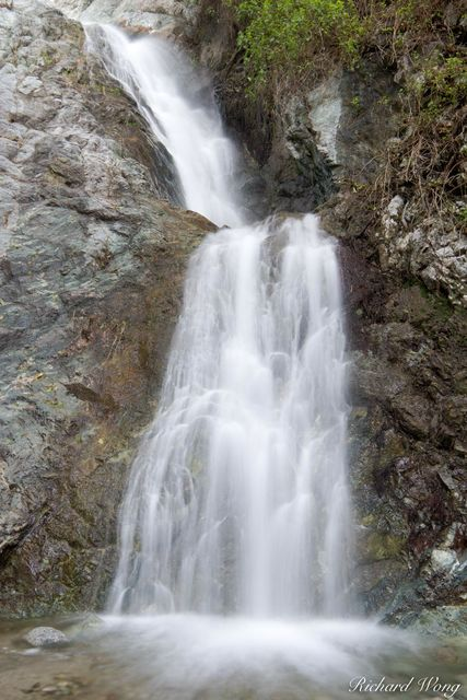 Monrovia Canyon Falls, San Gabriel Mountains, California, photo