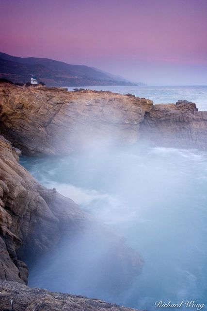 Leo Carrillo State Beach Coastline, Malibu, California, photo